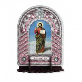 """Набор для создания иконы с вышитой рамкой-киотом Нова Слобода """"Христос Спаситель"""" ВК1003"""