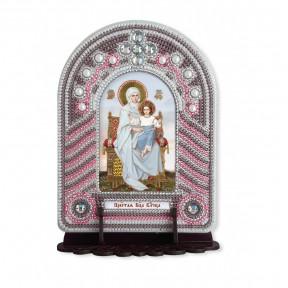 """Набор для создания иконы с вышитой рамкой-киотом Нова Слобода """"Пресвятая Богородица Владычица"""" ВК1002"""