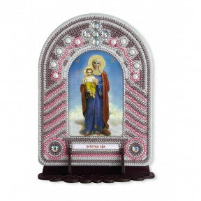 """Набор для создания иконы с вышитой рамкой-киотом Нова Слобода """"Пресвятая Богородица"""" ВК1004"""