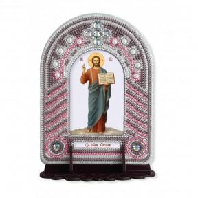 """Набор для создания иконы с вышитой рамкой-киотом Нова Слобода """"Господь Исус Христос"""" ВК1005"""