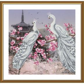 """Набор для вышивания крестом Новая Слобода """"Павлины"""" СВ3210"""