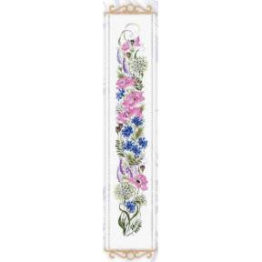 """Набор для вышивания крестом Риолис  """"Цветочное ассорти"""" 1866"""