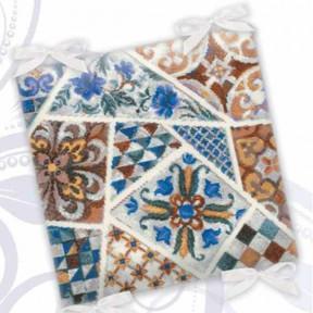"""Набор для вышивания крестом Риолис  """"Подушка """"Мозаика"""" 1871"""