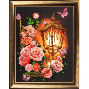 Набор для вышивания бисером Butterfly Розовый фонарь 129Б
