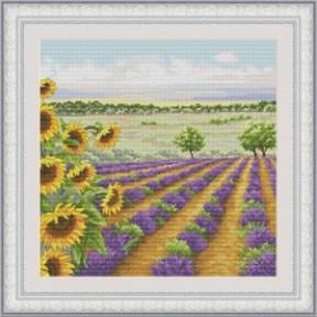 Набор для вышивания крестиком OLanTa Летний пейзаж 3 VN-134
