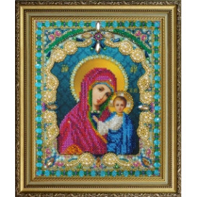 Набор для вышивания бисером Картины Бисером Казанская Икона Божией Матери Р-409