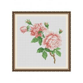 """Набор для вышивки крестом Dantel """"Розы"""" 032 d фото"""