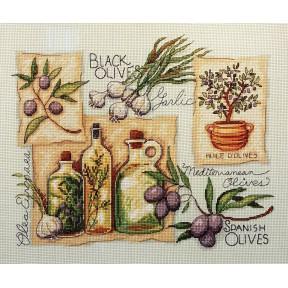 Набор для вышивания крестом Classic Design Пряности и травы