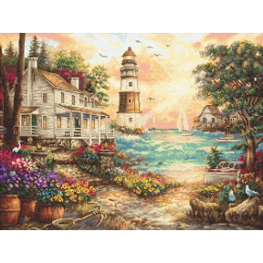 "Набор для вышивания LETISTITCH ""Коттедж у моря"" LETI 962"