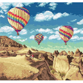 "Набор для вышивания LETISTITCH ""Воздушные шары над Гранд-Каньоном"" LETI 961"