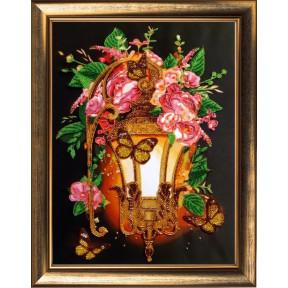 Набор для вышивания бисером Butterfly Цветочный фонарь 130Б