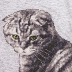 Набор для вышивки Золотое Руно Кот Маркиз ВН-002 фото