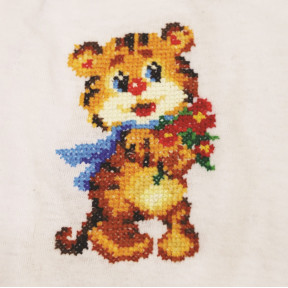 Набор для вышивки Золотое Руно Веселый тигренок ВН-004 фото