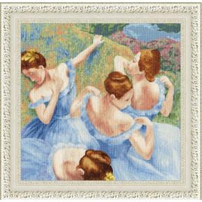 Набор для вышивки Золотое Руно Голубые танцовщицы МК-050 фото