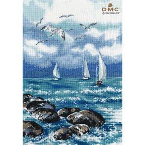 """Набор для вышивки крестом Овен """"О, море, море."""" 1308о"""