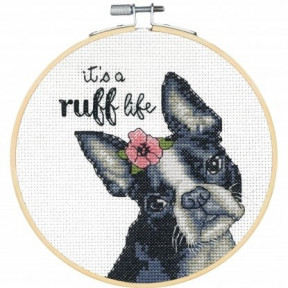 """Набор для вышивания крестом """"Ruff Life//Cобачья жизнь"""" DIMENSIONS 72-76108"""