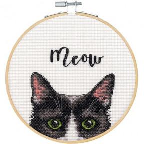 """Набор для вышивания крестом """"Meow//Мяу"""" DIMENSIONS 72-75983"""