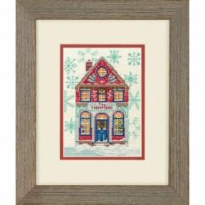 """Набор для вышивания крестом """"Hiliday Home//Праздничный дом"""" DIMENSIONS 70-08988"""