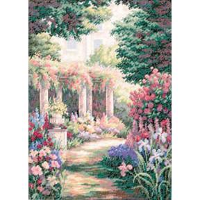 Набор для вышивки крестом Dimensions 35079 Floral Retreat