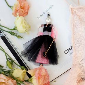 """Набор для создания украшения куколки-подвески Абрис Арт  """"Розовый зефир"""" ADK-005"""