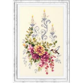 Набор для вышивки крестом Чудесная игла Праздничный этюд
