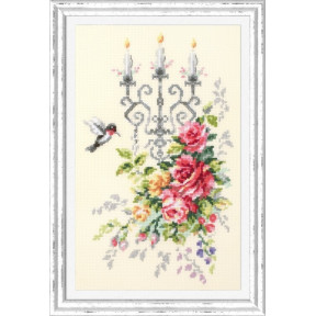 Набор для вышивки крестом Чудесная игла Праздничный этюд 100-202