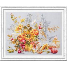 Набор для вышивки крестом Чудесная игла Осенняя импровизация