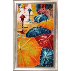 Набор для вышивания бисером Butterfly Веселые зонтики 833
