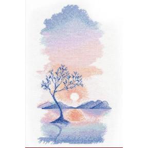 Набор для вышивки крестом Овен Закат 1336о