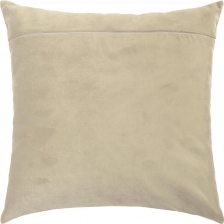 Обратная сторона наволочки для подушки Чарівниця Кофе с молоком