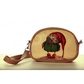 """Набор для вышивания бисером Butterfly Сумка """"Совушка в шапочке"""" LB 031"""