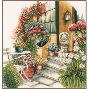 Набор для вышивания Lanarte PN-0008016 Осеннее цветение (Терраса)