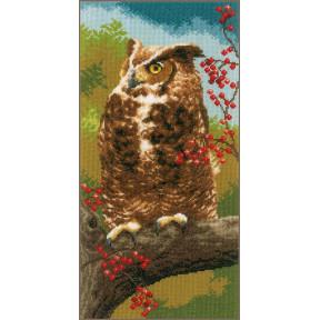"""Набор для вышивания Vervaco Owl in autumn """"Филин"""" PN-0164961"""