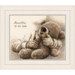 """Набор для вышивания Vervaco Teddy bear """"Плюшевый медведь"""""""