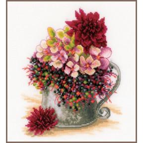 """Набор для вышивания Lanarte """"Pink blush bouquet"""" PN-0185110"""