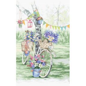 """Набор для вышивания LETISTITCH """"Велосипед"""" LETI 971"""