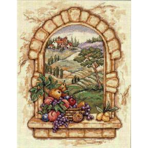 """Набор для вышивания крестом Classic Design """"Вид Тосканы"""" 4497"""