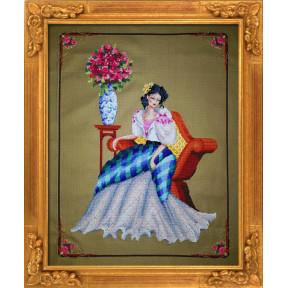 """Схема для вышивания BELLA FILIPINA """"Portrain of Maria Clara"""""""