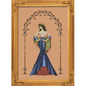 """Схема для вышивания BELLA FILIPINA """"Reina Paz"""" BF003 фото"""