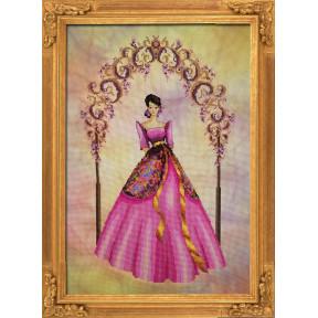 """Схема для вышивания BELLA FILIPINA """"Reina Delas Flores"""" BF002"""