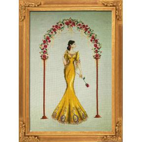 """Схема для вышивания BELLA FILIPINA """"Rosa Mystica"""" BF001 фото"""