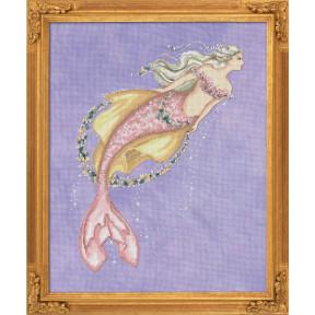 "Схема для вышивания BELLA FILIPINA ""Akoya Pearl Mermaid"" BF022"