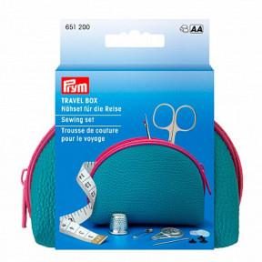 Бокс-косметичка для шитья для путешествий, голубой Prym 651200
