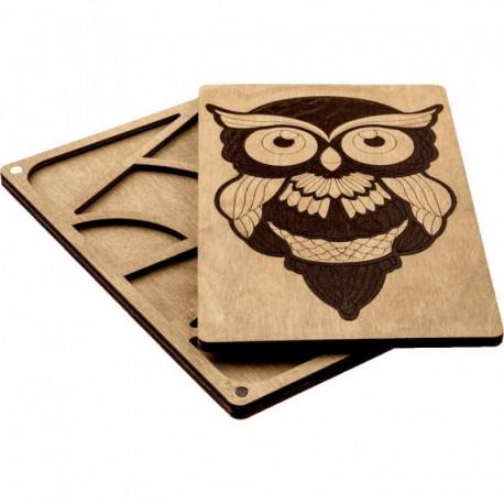 Органайзер для бисера с деревянной крышкой   Волшебная страна FLZB-067