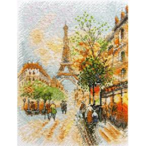 Набор для вышивания крестом Марічка Парижская осень НКА-018 фото