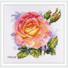 """Набор для вышивания крестом Мережка """"Роза"""" К-138 фото"""