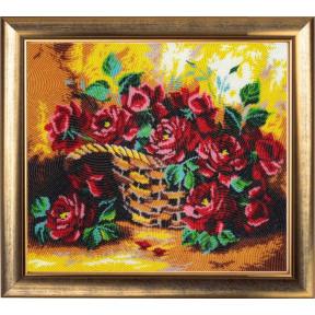 Набор для вышивания бисером Butterfly 181 Солнечные розы фото