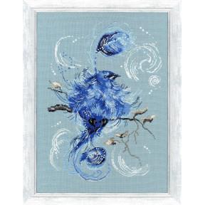 Набор для вышивки Золотое Руно Синяя птица РС-021 фото