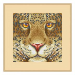 """Набор для вышивания бисером ВДВ """"Леопард"""" ТН-1195 фото"""