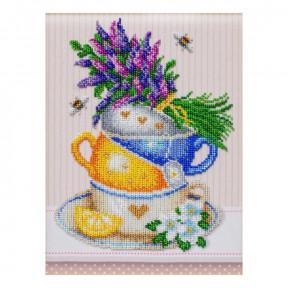 """Набор для вышивания бисером ВДВ """"Травяной чай"""" ТН-1230 фото"""